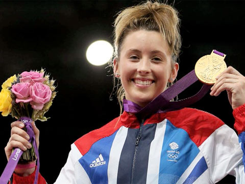 Jade Jones London 2012 Taekwondo Gold
