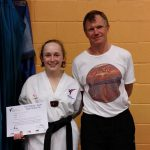 Black Belt Grading May 2014 Lucy & Simon