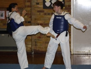Female Sparring