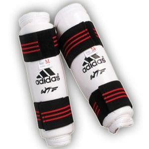 Taekwondo shin pads