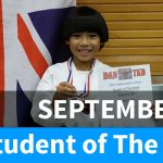 Student of The Month September Banner