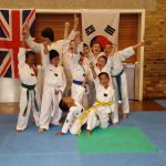 DAN Taekwondo School Kids Class having fun