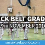 Black Belt Grading 19th Nov 2016