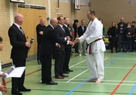 Black Belt Grading 19th Nov 2016 image two