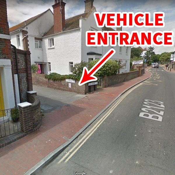 Vehicle Entrance for DAN Taekwondo School