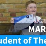 Ciaran Student of The Month March 2017