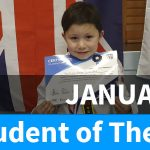 Thiago Student of The Month January 2020